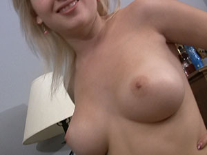 Big Titted Amateur Teen Flashes For Camera